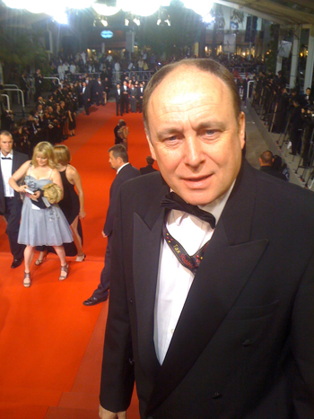 A top the red carpet